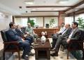 دیدار رییس کمیسیون صنایع و معادن مجلس با مدیرعامل شرکت مس
